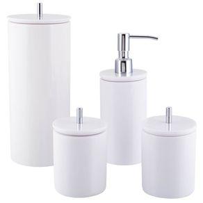 Conjunto-de-potes-para-banheiro---Redondo---Branco