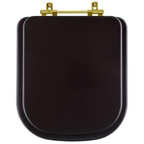 Assento-Sanitario-Piano-Marrom-Fosco-com-Ferragem-Dourada