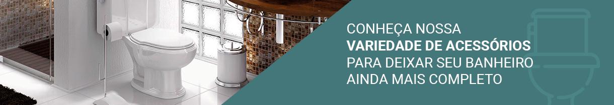 Banner Acessórios para Banheiro
