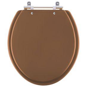 Assento Sanitário Contemporary O (Marrom-para-vaso-Hervy
