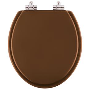 Assento-Sanitario-Poliester- Soft-Close-Convencional-Oval-Caramelo-Para-Vaso-Deca